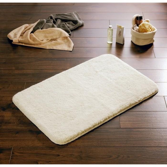 Коврик для ванной комнаты Istanbul, цвет белый 60х90 см