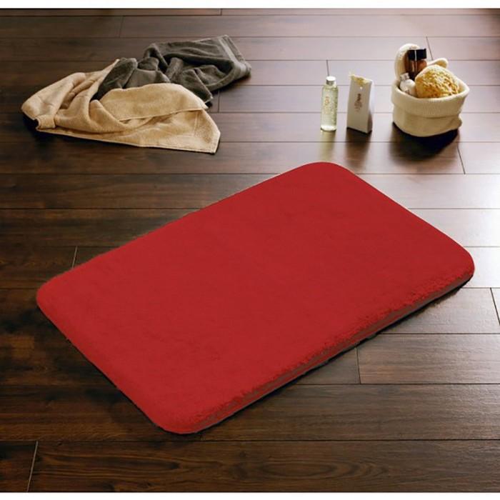Коврик для ванной комнаты Istanbul, цвет красный 60х90 см