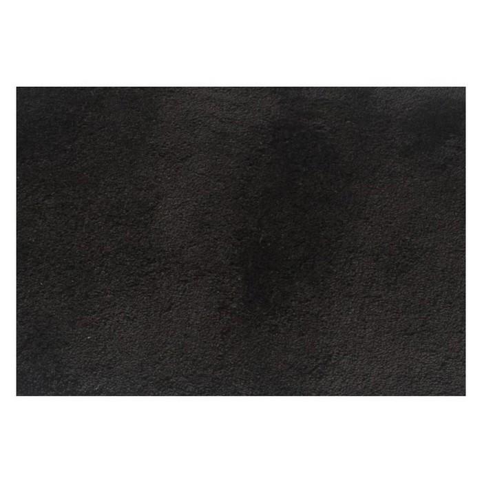 Коврик для ванной комнаты Istanbul, цвет черный 50х50 см