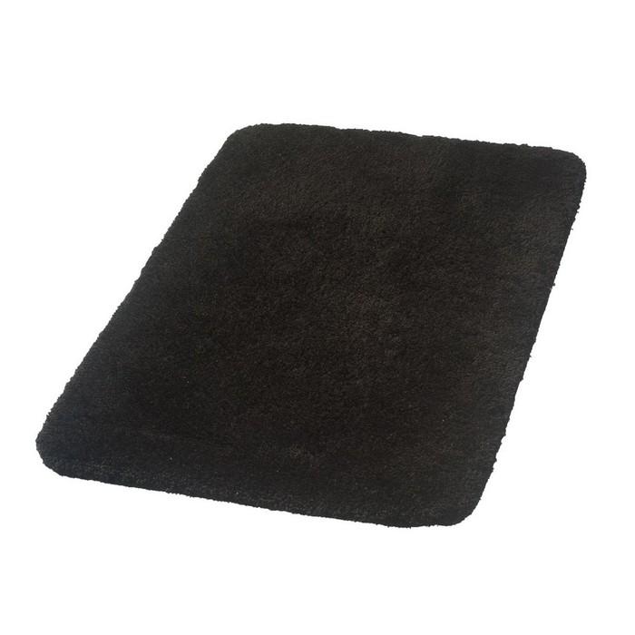 Коврик для ванной комнаты Istanbul, цвет черный 60х90 см