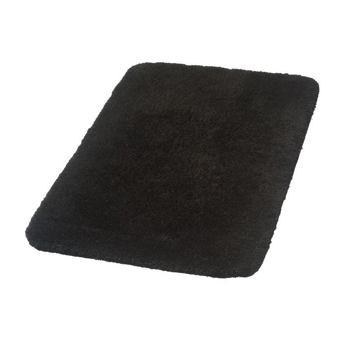 Коврик для ванной комнаты Istanbul, цвет черный 70х120 см