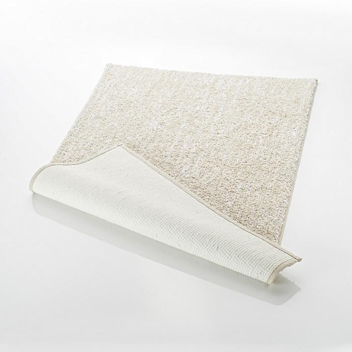 Коврик для ванной комнаты Melange, цвет бежевый/коричневый 55х50 см