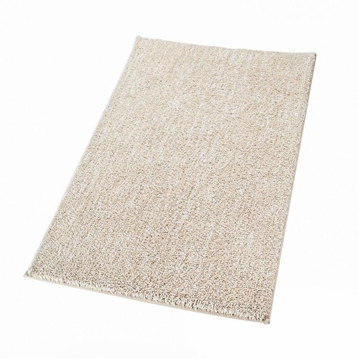 Коврик для ванной комнаты Melange, цвет бежевый/коричневый 70х120 см
