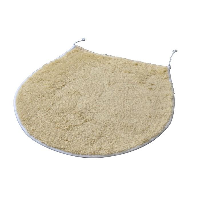 Коврик для ванной комнаты Palma, цвет бежевый/коричневый 47х50 см