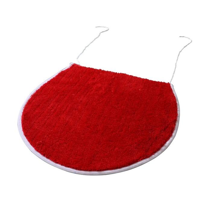 Коврик для ванной комнаты Palma, цвет красный 47х50 см