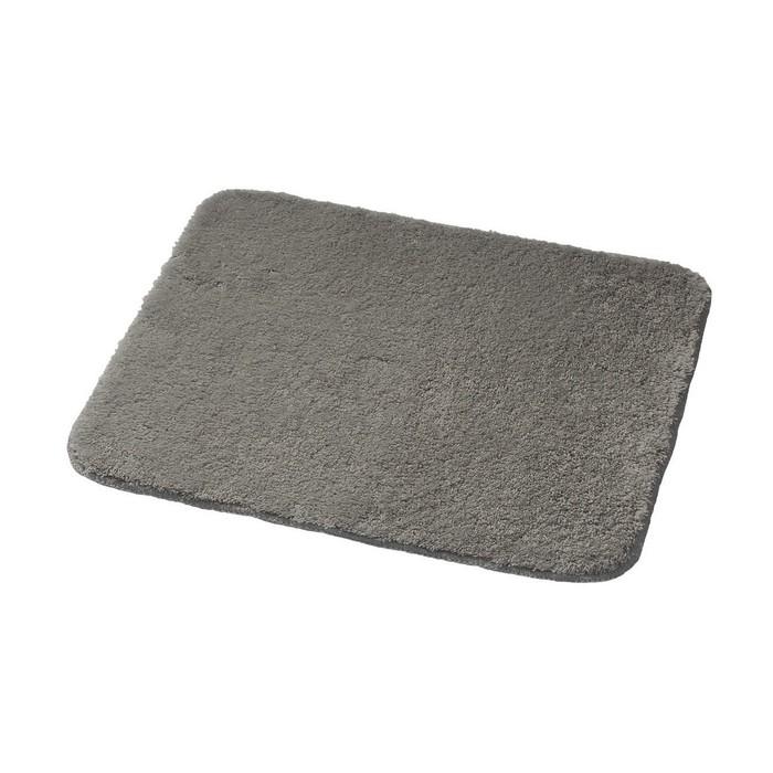 Коврик для ванной комнаты Palma, цвет серый 55х50 см