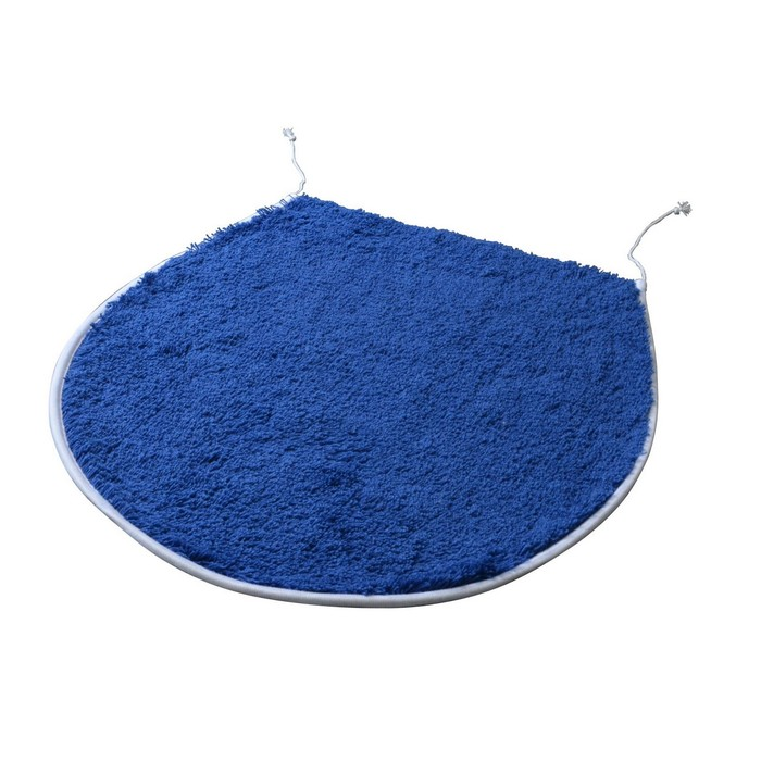 Коврик для ванной комнаты Palma, цвет синий/голубой 47х50 см