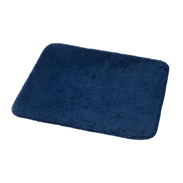 Коврик для ванной комнаты Palma, цвет синий/голубой 55х50 см