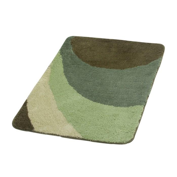 Коврик для ванной комнаты Tokio, цвет зеленый 60х90 см