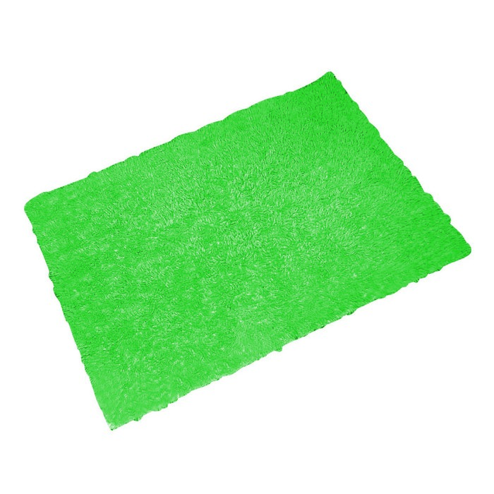 Коврик для ванной комнаты Twist Loop, цвет зеленый 55х85 см