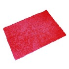 Коврик для ванной комнаты Twist Loop, цвет красный 55х85 см