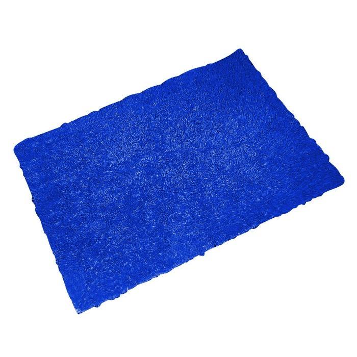 Коврик для ванной комнаты Twist Loop, цвет синий/голубой 55х85 см