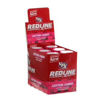 Энергетический напиток Redline Xtreme, Shot, 90 мл, Cotton Candy, Сахарная вата