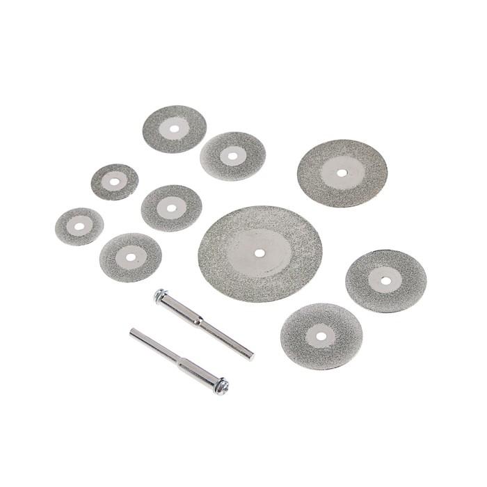 Круги отрезные мини FIT, с алмазным напылением, 12 шт.