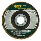 Круг лепестковый торцевой FIT, 115 х 22.2 мм, Р 80