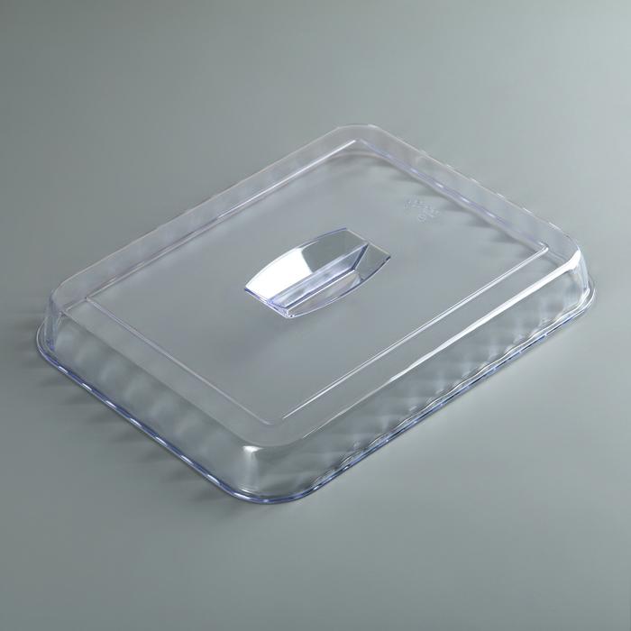 Крышка к салатнику 4 л, прозрачная