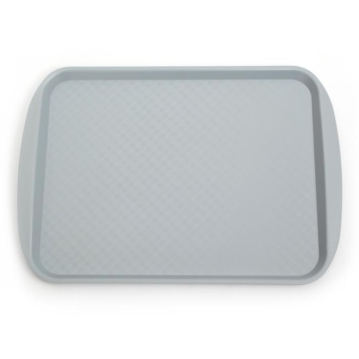 Поднос, 49,5×35 см, цвет серый
