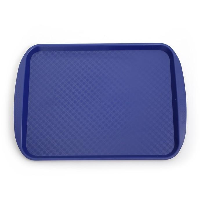 Поднос, 49,5×35 см, цвет синий