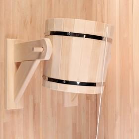Обливное устройство из липы, 12л, оцинкованная вставка, 'Добропаровъ' Ош