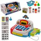 Игровой набор «Касса» с продуктовой корзинкой - фото 908239