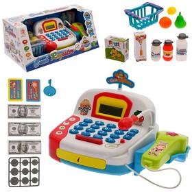 Игровой набор «Касса» с продуктовой корзинкой