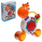 Развивающая игрушка «Забавный жираф», весёлые фразы и песенки, световые и звуковые эффекты