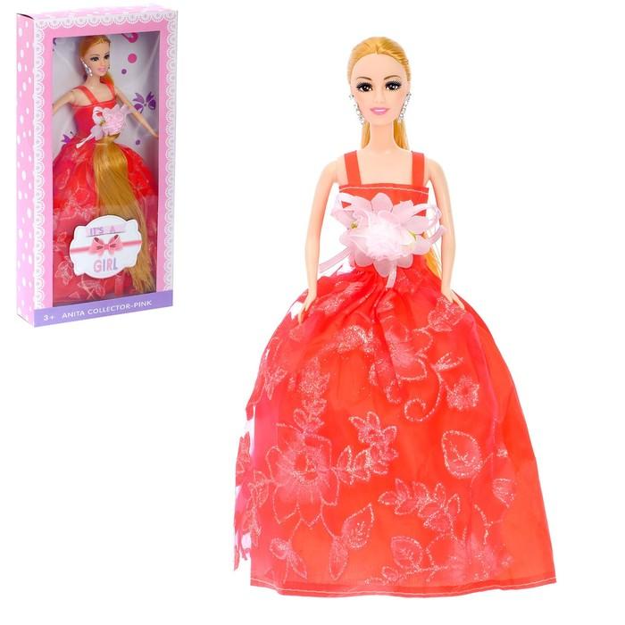 """Кукла модель """"Лара"""" в платье, МИКС"""