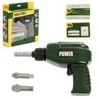 Tool set Drill, 3 nozzles, battery powered