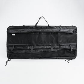 Органайзер на заднее сиденье в багажник, подвесной, 100х50х5 - фото 7427852