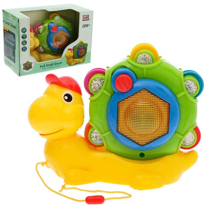 """Развивающая игрушка """"Улитка"""", световые и звуковые эффекты"""