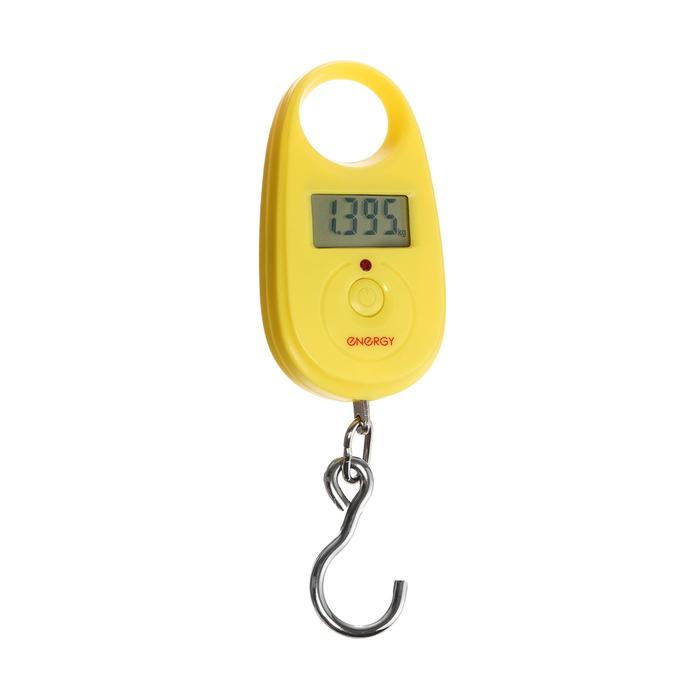 Безмен электронный ENERGY BEZ-150, до 25 кг, желтый