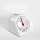 Весы кухонные механические ENERGY EN-405МК, до 5 кг, круглые, стеклянные