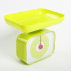 Весы кухонные механические ENERGY EN-410МК, зеленый, до 10 кг, квадратные