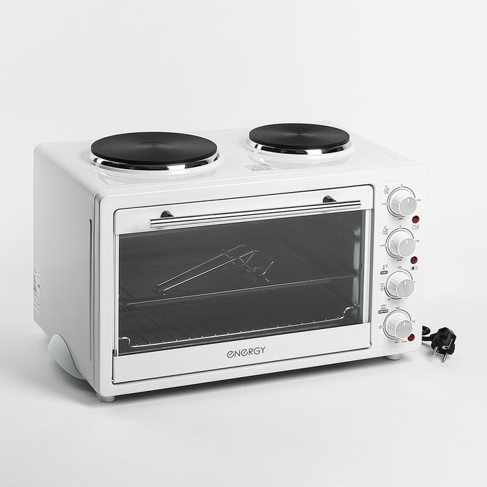 Мини-печь ENERGY GН30-W, 1400 Вт, 30 л, белая