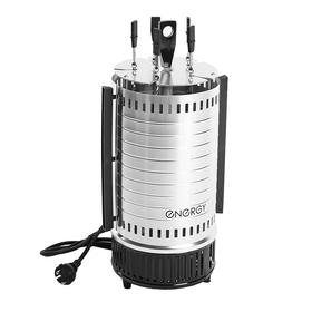 Электрошашлычница ENERGY НЕВА-1, 1000 Вт, 5 шампуров, серебристая
