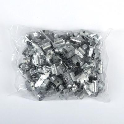 Грузики набивные свинцовые, для литых дисков, 20 г, набор 100 шт.