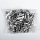 Грузики набивные свинцовые, для литых дисков, 35 г, набор 50 шт.