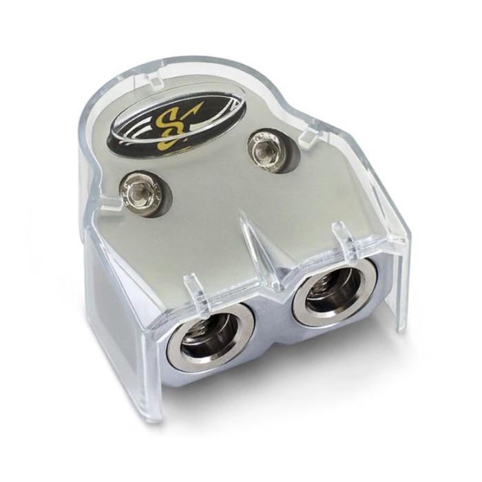 Аккумуляторная клемма Stinger SHT303, 2 х 0-4Ga, сменные втулки