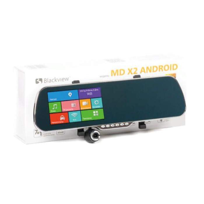 """Видеорегистратор зеркало Blackview MD X2 (только фронтальная камера), 5"""", обзор 170°,  1920x1080   3"""
