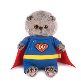 Мягкая игрушка «Басик BABY», в костюме супермена, 20 см