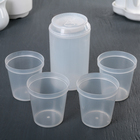 """Drinking set """"Bank"""" of 5 items: a jug 350 ml, 4 cups of 150 ml, bottle opener"""