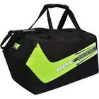 Сумка спортивная RDX Black/Green, с боковым карманом для обуви