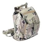 Сумка-рюкзак походная военного цвета 34*26см