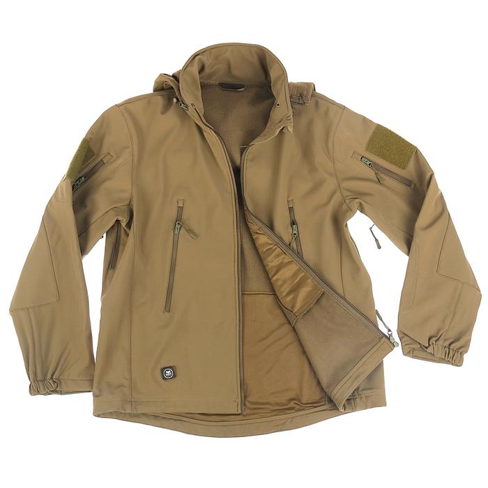 Спортивная кофта с капюшоном и длинными рукавами на молнии микс, размер L