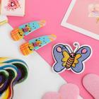 """Набор детский """"Выбражулька"""" 3 пред-та: 2 заколки, брошь, бабочка, цвет МИКС"""