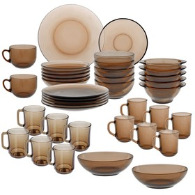 "Набор столовый на 6 персон ""Basilico"" Ca del vetro, 40 предметов"