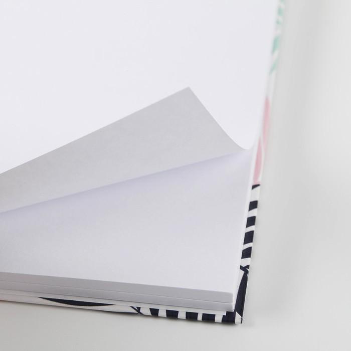 """Скетчбук на гребне """"Панда"""", твёрдая обложка, А6, 80 листов - фото 502478464"""