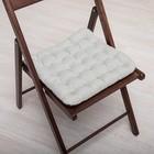 БИО-подушка на стул с массажным эффектом 40*40 лузга гречихи, грета