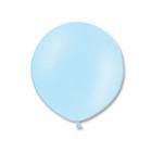 """Шар латекс 24"""" экстра, пастель, сетло-голубой BB"""