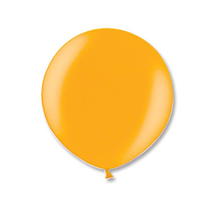 """Шар латексный 24"""" экстра, металл, цвет золотой - фото 182586261"""